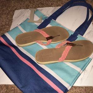 Sperrys pink Sandals
